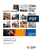 Frasers Ceannualreport2011.pdfntrepoint Trust Annual Report 2011