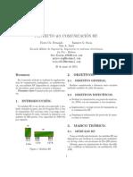 Comunicación por RF con microcontrolador