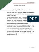 Development Banks Final