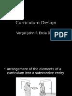 Curriculum Design- Dr. VJ