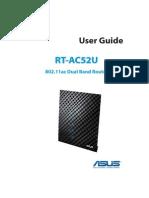 e8161 Rt Ac52u router Manual