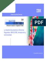 Gestion Documental en Entornos Regulados-ibm Score[1]