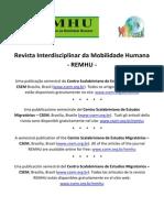 BAENINGER, R. Rotatividade_ Revista Interdisciplinar de Mobilidade Humana