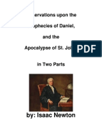 Daniel e Apocalipse Por Isaac Newton