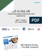 6 DDF 2015 IBD Patient Portals - The Way Forward - C CALVERT