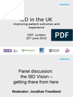 9 DDF 2015 Panel Discussion - The IBD Vision - J FREEDLAND