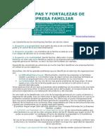 Trampas y Fortalezas de La Empresa Familiar
