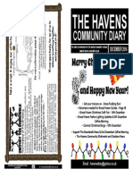 The Havens Community Diary December 2014