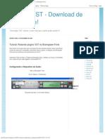 Tutorial_Rodando Plugins VST No Brainspawn Forte