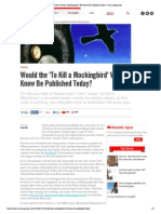 Would the 'to Kill a Mockingbird' We Know Be Published Today_ _ Dame Magazine