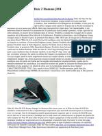 Acheter Nike Free Run 2 Homme JM4