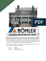ACEROS BOHLER