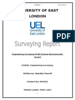 My Surveying Trip Report