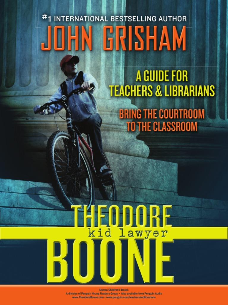 Theodore Boone Kid Lawyer Pdf