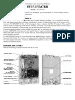 STI 34109 Installation Manual