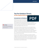 WP TopTen Database Threats