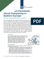 Cloud Computing in Eastern Europe 2014