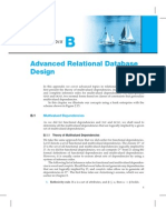 Advanced Relational Database Design