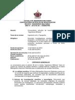 Convocatoria Artículos Revista No. 06 Ingenieros Militares