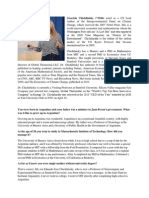 Graciela Chichilinsky-Interview for Oxford Journal of Research-7.2015