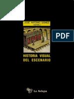 Gómez José Antonio Historia Visual Del Escenario