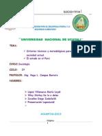 Trabajo de Sociologia Criterios Tecnicos