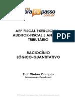 PDF AEP ESAFExercicios RaciocinioLogico WeberCampos
