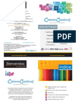Lista de Precios - Colores Creativos