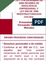 Regimen de Insolvencia Empresarial