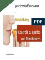 Curso Controla Tu Apetito Con Mindfulness - Alimentacion Consciente
