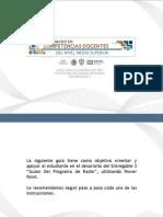 Orientaciones Programa