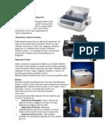 10 Tipos de Impresora