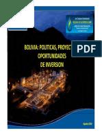 ministerio de hidrocarburos bolivia
