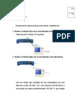 Cuestionario Router para telecomunicaciones julio del 2015