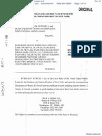Murphy et al v. Kohlberg Kravis Roberts & Company et al - Document No. 34