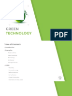 13- Green Technology