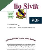 Folio Sivik Tingkatan 1 / 2007 (Sejarah Sekolah Tuanku Abdul Rahman STAR Ipoh)