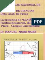 EL Niño 2015. Mayo