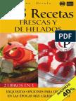 168 Recetas Frescas y de Helado