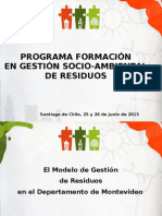 Programa Formación Gestión Socioambiental de Residuos