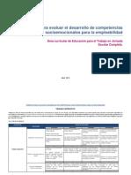 5. Kit de Rúbricas Para Evaluar El Desarrollo de Competencias Socioemocionales Para La Empleabilidad