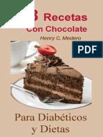 38 Recetas Postres Con Chocolate - Henry C. Medero