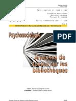 Psycho - Analyse de Textes