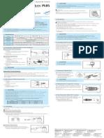 Pana-maxplus Om-t0344e-000 Operation Manual en Es