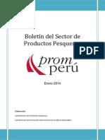 Boletin Pesquero ENE 2014