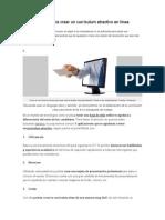 5 Aplicaciones Para Crear Un Currículum Atractivo en Línea
