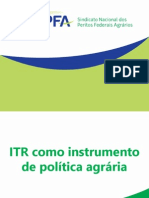 ITR como instrumento de política agrária - Apresentação SindPFA