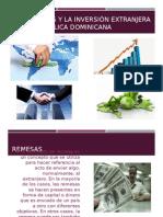 Las Remesas y La Inversión Extranjera en Rd