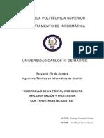 PFC Saniago Fernandez Pinilla