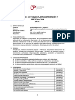 XI01_Metrologiaestandarizacionycertificacion